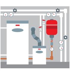 Boiler room vector