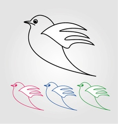 Dove- the symbol of peace vector