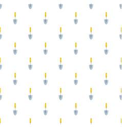 Hand spade pattern seamless vector