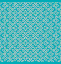Seamless patten with decorative floral elements vector