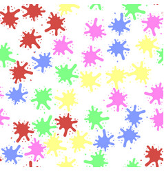 set of colorful blobs vector image