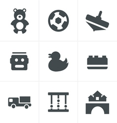 Toys Icons vector