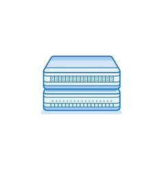 Network router icon vector