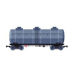 oil rail tank gasoline and petroleum production vector image