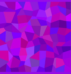 Purple abstract irregular polygon mosaic vector