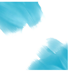 sky blue watercolor paint effect background vector image