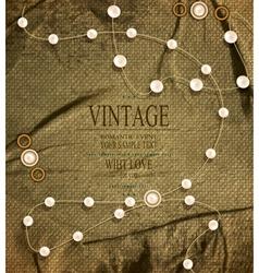Vintage retro background vector