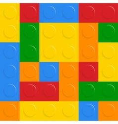 block on white background vector image