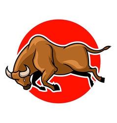 Bulls vector