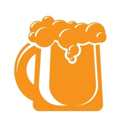 Mug of beer icon sign design element vector