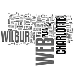 Weave your own web text word cloud concept vector