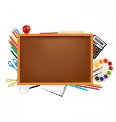 back to school big set vector image vector image