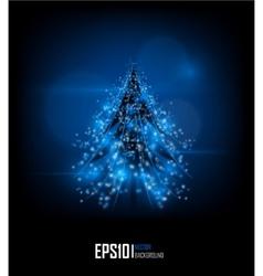 modern abstract christmas tree eps 10 vector image