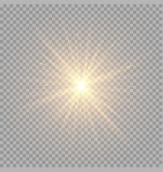 Brilliant golden rays vector