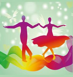 couple dancingeps vector image