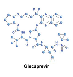 Glecaprevir treatment hcv vector