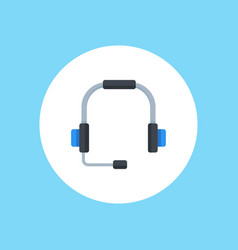 headphones icon sign symbol vector image