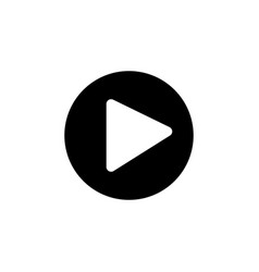 media player icon signs and symbols can be used vector image