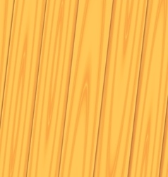 Realistic wooden texture with boards vector image