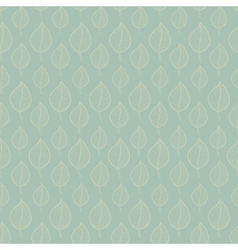 Seamless Autumn pattern on a green background vector image