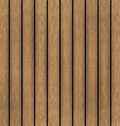 Wooden boards background vector image