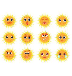 emotions cartoon vector image