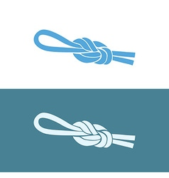 Fishing Knot Eight vector image