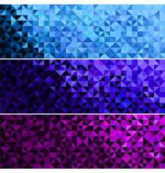 Abstract Sparkle Blue Pink Violet Background vector image vector image