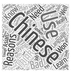 Bad reasons not to learn chinese word cloud vector
