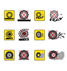 Infographics wheels set vector
