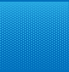 Monochrome dots background blue color abstract vector