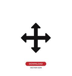 Move cursor icon vector