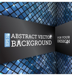 Perspective Rhombus Abstract Background vector