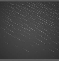transparent rain drops isolated on abstract vector image