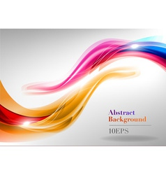 abstract curves vector image vector image