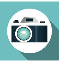 camera photography travel vacation design vector image