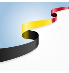 Belgian flag background vector image
