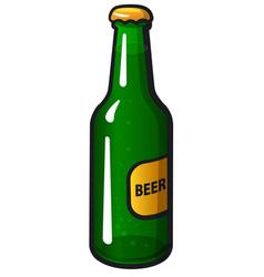 bottle a beer vector image