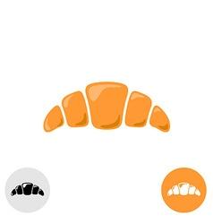 Croissant logo vector image