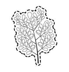 Plant branch icon image vector