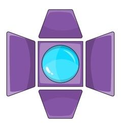 Spotlight icon cartoon style vector image