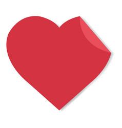 happy valentines day label vector image