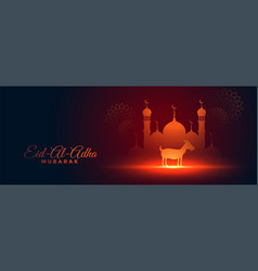 banner for eid al adha mubarak vector images over 4 900 vectorstock