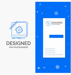 business logo for design app logo application vector image