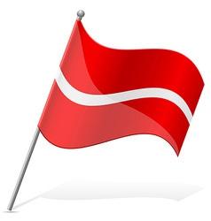 Flag of Latvia vector