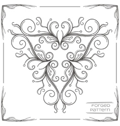 Forged Pattern One vector