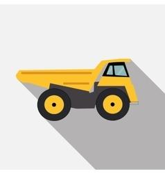 Ftat Truck vector image