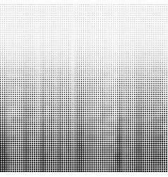 Halftone pattern set dots overlay grunge vector
