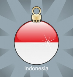 Indonesia bulb vector image