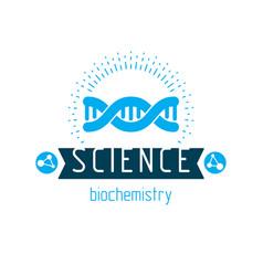 Model human dna strands biochemistry research vector